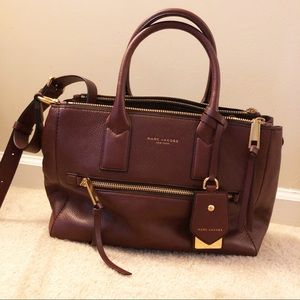 Marc Jacobs Recruit East/West Pebbled Leather Tote
